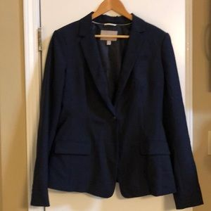 Navy blue suit jacket from Banana Republic